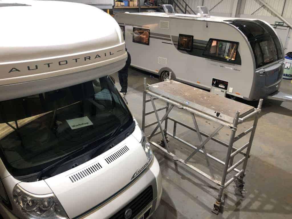 Caravan & Motorhome Servicing, Norwich   Downtide Caravans